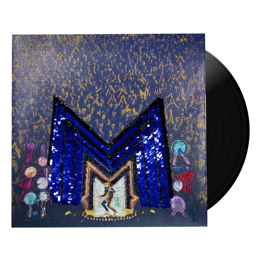 Delphine Leverrier, rockeuse & brodeuse sur pochettes vinyles