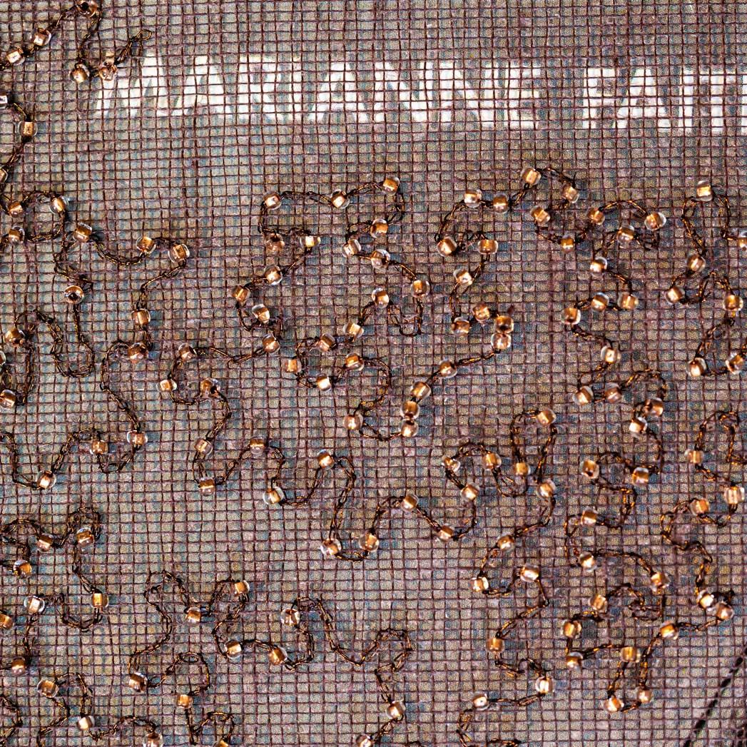 Delphine-Leverrier Marianne-Faithfull vinyle broderie