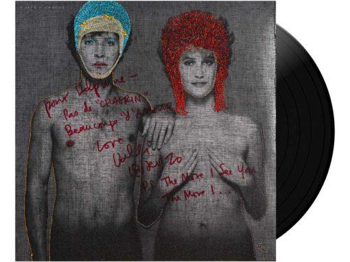 Mix David Bowie PinUps & Chagrin d'amour dédicacée par Valli