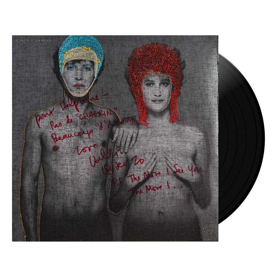 Delphine Leverrier, rockeuse & brodeuse sur pochettes vinyles.
